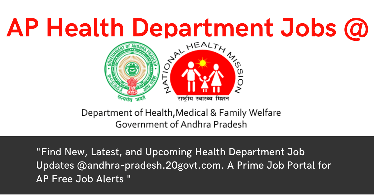 Andhra Pradesh AP Government Health Department Jobs-1200x630